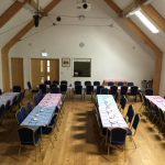 The hall is suitable for a range of events